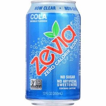 Zevia Soda - Zero Calorie - Cola - Can - 6/12 Oz - pack of 4