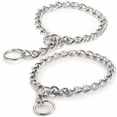 Choke Chain Dog Collar Selections - Steel Training Low Prices!(Light Weight 2 mm 18 Inch)