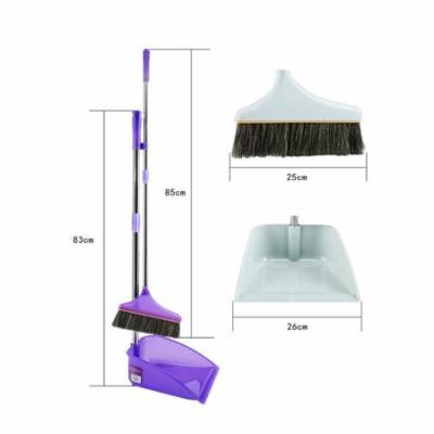 DZT1968New Material Home Casual Environmental Recycle Upright Sweep Set broom besom
