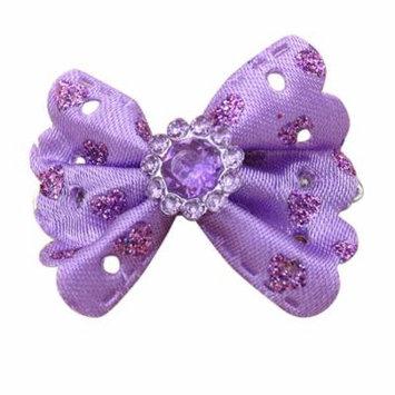 DZT1968Girls Princess Handmade butterfly Hair Clip Headdress For American Girl Doll PP