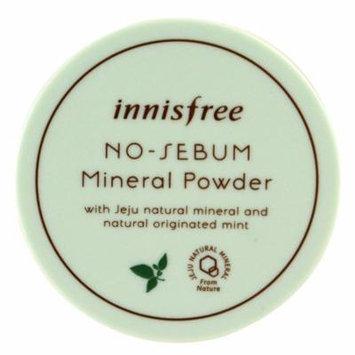 Innisfree, No-Sebum Mineral Powder, 5 g(pack of 4)