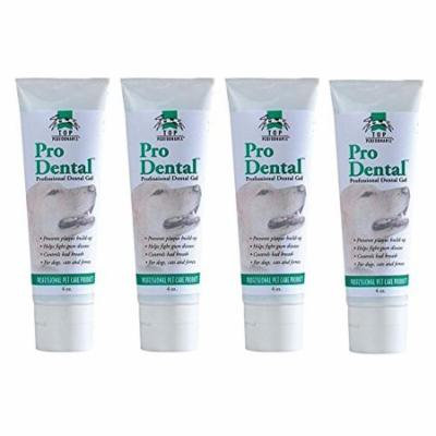ProDental Oral Gel For Dogs & Cats - Promotes Strong Teeth & Soothes Gums 4 oz(4 Tubes)