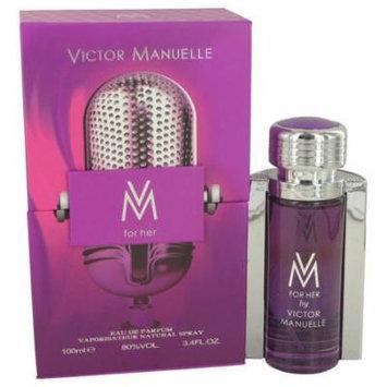 Victor Manuelle Women's Eau De Parfum Spray 3.4 Oz