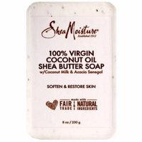4 Pack - Shea Moisture 100% Virgin Coconut Oil Shea Butter Soap 8 oz