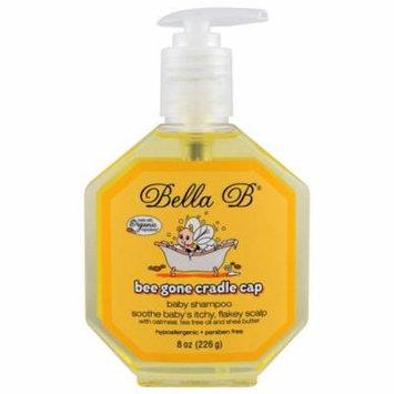 Bella B, Bee Gone Cradle Cap, Baby Shampoo, 8 oz(pack of 12)