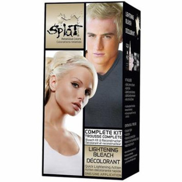 4 Pack - Splat Rebellious Color Complete Kit, Lightening Bleach 1 ea