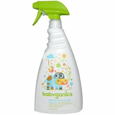 BabyGanics, Stain & Odor Remover, Fragrance Free, 32 fl oz (pack of 6)