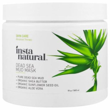 InstaNatural, Dead Sea Mud Mask with Shea Butter, Face & Body, 19 oz (pack of 2)