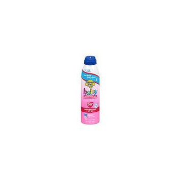 Banana Boat Baby Ultramist Continuous Spray Sunscreen, SPF 50+ Fragrance Free 6.0 oz.(pack of 2)