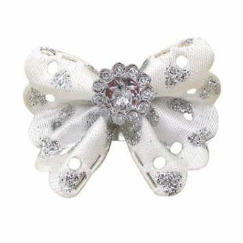 DZT1968Girls Princess Handmade butterfly Hair Clip Headdress For American Girl Doll WH