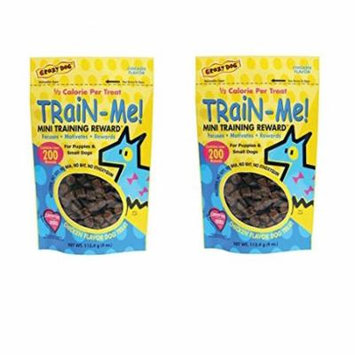 Dog Training Mini Treat Pack Chicken Flavor Rewards For Puppies Small Breed Dogs(Two Packs)