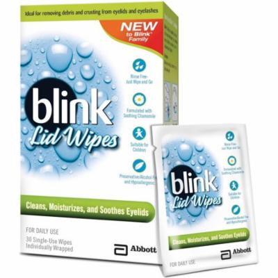2 Pack - Blink Single Use Lid Wipes 30 ea