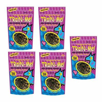 Dog Training Mini Treat Pack Beef Flavor Rewards For Puppies Small Breed Dogs(Five Packs)