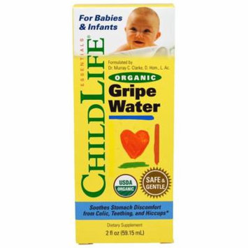ChildLife, Organic Gripe Water, 2 fl oz(pack of 2)