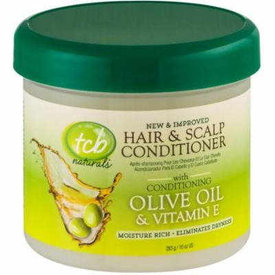 2 Pack - TCB Naturals Hair & Scalp Conditioner With Olive Oil & Vitamin E 10 oz