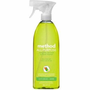 3 Pack - Method All Purpose Surface Cleaner, Lime + Sea Salt 28 oz