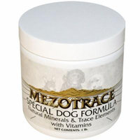 Mezotrace, Special Dog Formula, Natural Minerals & Trace Elements with Vitamins, 1 lb(pack of 6)