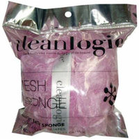 3 Pack - Clean Logic Mesh Bath Sponge, Colors May Vary 1 ea