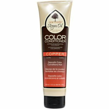2 Pack - One N Only Argan Oil Color Conditioner, Copper 5.2 oz