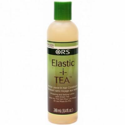 3 Pack - Organic Root Stimulator Elastic I Tea Herbal Leave In Hair Conditioner 8.4 oz