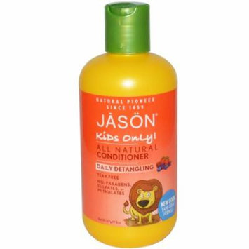 Jason Natural, Kids Only!, Daily Detangling Conditioner, 8 oz(pack of 3)