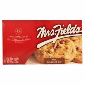 Product Of Mrs Fields, Milk Chocolate Chip, Count 12 - Cookie & Cracker / Grab Varieties & Flavors