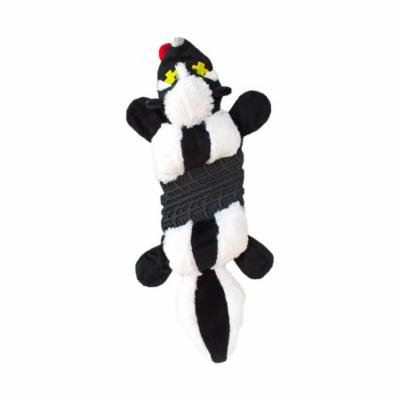 Roadkillz Skunk, Plush Head and Tail Dog Toy