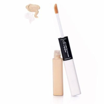 E.L.F. Cosmetics, Under Eye Concealer & Highlighter, Fair/Glow, 0.17 oz (pack of 3)