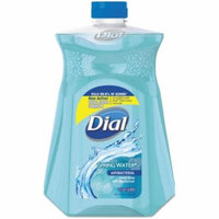 4 Pack - Dial Antibacterial Liquid Hand Soap Refill, Spring Water 52 oz