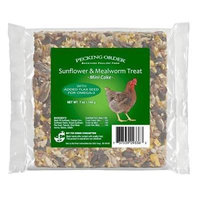 Pecking Order Mealworm & Sunflower Cake 7 oz