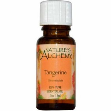 4 Pack - Nature's Alchemy Essential Oil, Tangerine 0.5 oz