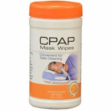 6 Pack - CONTOUR Products CPAP Mask Wipes, Citrus Scent 62 ea