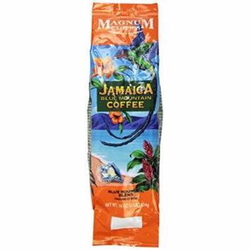 Magnum Jamaican Blue Mountain Blend Coffee, Ground, 1 Lb Bag