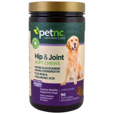 21st Century, Pet Natural Care, Hip & Joint, High Potency, Liver Flavor, 90 Soft Chews(pack of 2)