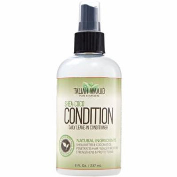 2 Pack - Taliah Waajid Shea-Coco Condition Daily Leave-in Conditioner 8 oz