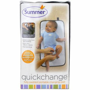 Summer Infant, Quickchange, Fully Padded Portable Changing Pad, 1 Piece(pack of 6)