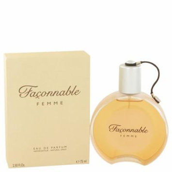 Faconnable Women's Eau De Parfum Spray 2.5 Oz