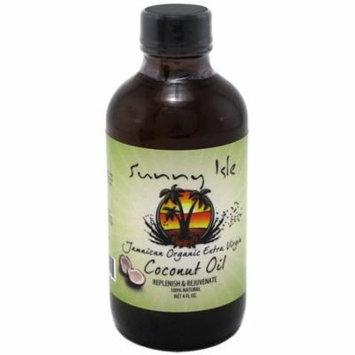 2 Pack - Sunny Isle Jamaican Extra Virgin Coconut Oil 4 oz