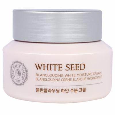 The Face Shop, White Seed, Blanclouding White Moisture Cream, 1.69 fl. Oz(pack of 1)