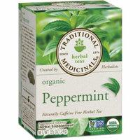 4 Pack - Traditional Medicinals Organic Herbal Tea, Peppermint 16 ea