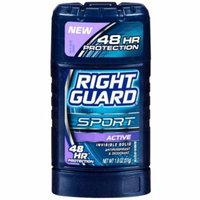 2 Pack - Right Guard Sport Antiperspirant & Deodorant, Invisible Solid, Active 1.8 oz