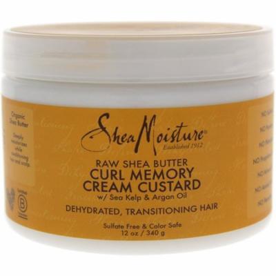2 Pack - Shea Moisture Raw Shea Butter Curl Memory Cream Custard 12 oz