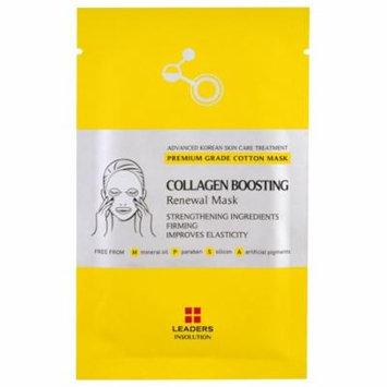Leaders, Collagen Boosting Renewal Mask, 1 Mask(pack of 12)
