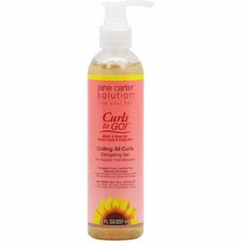 6 Pack - Jane Carter Solution Curls To Go! Coiling All Curls Elongating Gel 8 oz