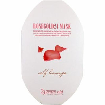 23 Years Old, Rosegold24 Mask, 1 Sheet(pack of 2)