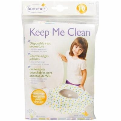 Summer Infant, Keep Me Clean, Disposable Seat Protectors, 10 Seat Protectors(pack of 1)