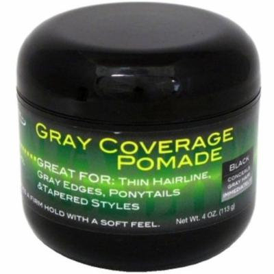 2 Pack - Weave Aide Gray Coverage Pomade, Black 4 oz