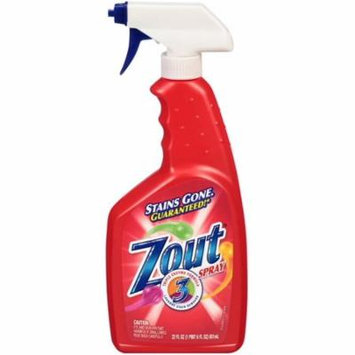 4 Pack - Zout Triple Enzyme Formula Laundry Stain Remover Spray 22 oz