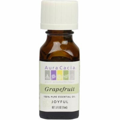 3 Pack - Aura Cacia Essential Oil, Grapefruit 0.50 oz