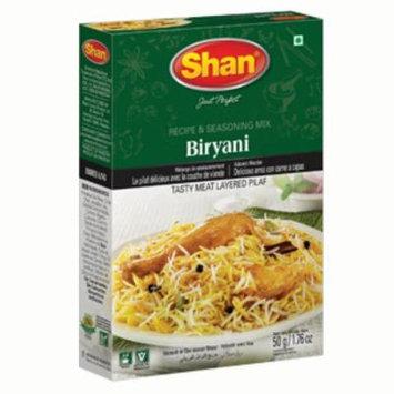 Shan Premium Biryani Masala Recipe & Seasoning, Indian Food Spices (pk of 6)